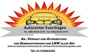 Autocenter Evershagen: Ihr Autohandel in Rostock